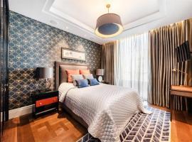 Hotel foto: an elegant three-bedroom apartment