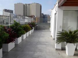 Hotelfotos: BELLO PENT-HOUSE TOTALMENTE EQUIPADO EN MIRAFLORES DE 5 HABITACIONES Y 7 BAÑOS