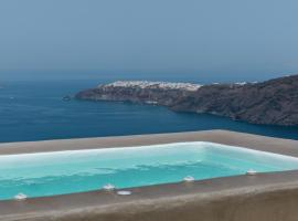 Hotel photo: The 360° Caldera view house by Caldera Houses