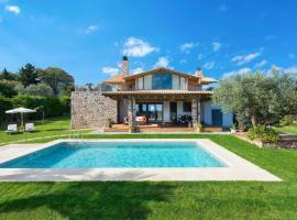 מלון צילום: Asgourou Villa Sleeps 8 Pool Air Con WiFi