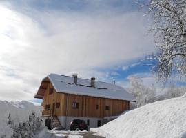 Hotel photo: Appartement en Chalet à La Féclaz en Savoie, Alpes.