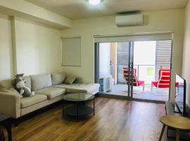 Hotel photo: New apt 1 station to the airport with facilities