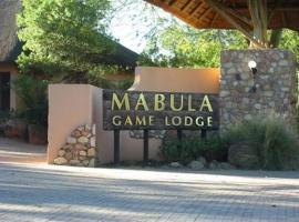 Hotel photo: Mabula Bush Lodge
