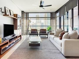 Hotel photo: Capacious Twin Towers Apartment at Epicenter of Kuala Lumpur