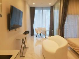 Hotel photo: One-bedroom apartment with endless swimming pool around Nana BTS