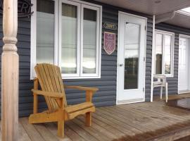 Hotel photo: Motel & Chalets Baie de Gaspé
