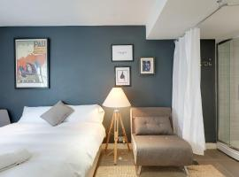 Hotel photo: Modern Boho Studio - Super Central Brighton - sleeps 1 to 3 guests - Free Wifi