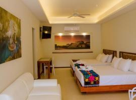 Hotel photo: Casa Azul Maya - Double King Suites - Room 4