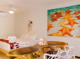Hotel photo: Casa Azul Maya - Single King Suites - Room 2