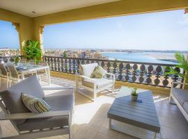 Hotel photo: Al Hamra Marina Apartment with Lagoon view