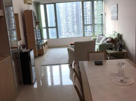 Hotel photo: Elegant 3BHK+2BA near HK airport!