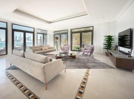 Hotel photo: Stunning Villa on Palm Jumeirah, Private Pool & Beach, PingPong, Billiards ++