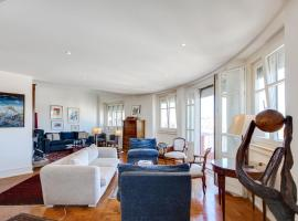 Hotel kuvat: Elegant apartment with panoramic view in the heart of Lisbon