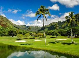 Hotel photo: Makaha Valley Plantation #112B
