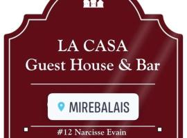 Hotel photo: LA CASA guest house and bar
