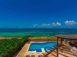 Hotel photo: Paraiso Four Bedroom Villa Oceanview Isla Mujeres Townhouse
