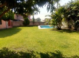 מלון צילום: casa en Temixco