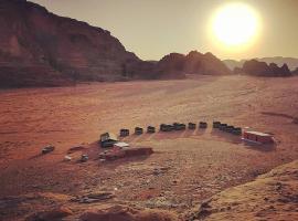 Hotel photo: Wadi Rum Sky Tours & Camp