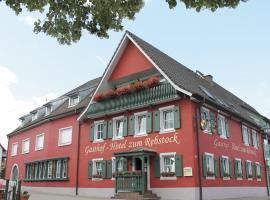 Hotel Photo: Gasthof Hotel zum Rebstock