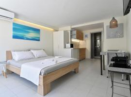 "Hotel photo: ""Salty"" New & Cozy Studio in the Center of Naousa"