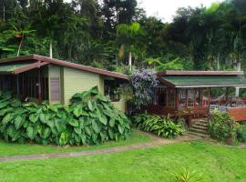 A picture of the hotel: Casa Tugwell, a mystic chalet inside El Yunque Rainforest
