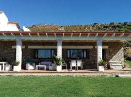Hotel photo: Modern rustic house in front of the Valdevaqueros beach