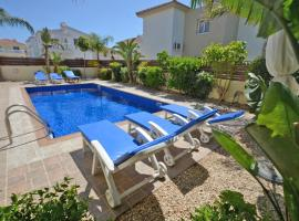 Hotel photo: VILLA FAVOR - 3 BED WITH POOL CLOSE TO NISSI BEACH AYIA NAPA