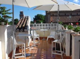 Hotel photo: ToledoRooms,com Value - Puerta de Bisagra - Communal Terrace
