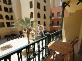 Hotel photo: Cozy 1 bedroom apartment in Abu Tig Marina