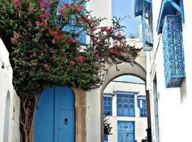 Hotel photo: Amazing 3 Bed Apartment @ Sidi Bou Said Village