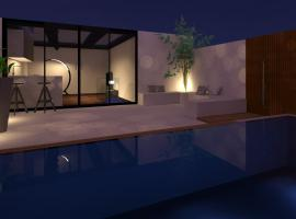Hotel photo: LUX Villa w/pool highly finished