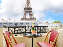 รูปภาพของโรงแรม: Apartment Avenue de la Bourdonnais in Paris