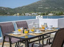 Hotel photo: The Veranda of Gavrion-Exclusive, Centrally located with Seaview
