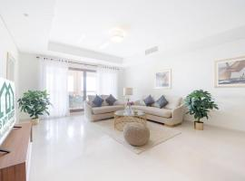 Hotel photo: Astounding 3 BR with Full Sea View in Palm Jumeirah