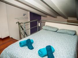Hotel fotoğraf: Loft urbano en madrid río i