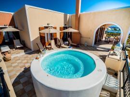 מלון צילום: Luxurious Villa in Greece - Vineyard, Jacuzzi on Terrace, Sea Views