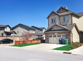Hotel photo: 4 Bedroom Family Home Close to Calgary Airport YYC
