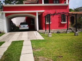 Hotel near Amatitlán