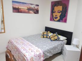 Hotel photo: Habitación de Lujo zona metro Miguel Hernandez (a 25min de Sol)