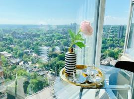 Photo de l'hôtel: 住宿中的陆虎Luxurious downtown, near University of Toronto & LV& Museum