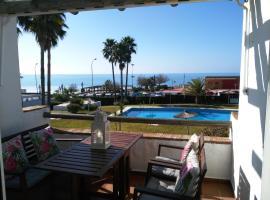 호텔 사진: Precioso apartamento en primera línea de playa de la Barrosa