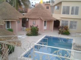 Hotel photo: Villa à Saly Portudal avec 4 Bungalows & 1 Chambre