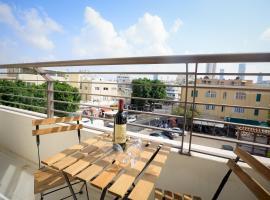 Hotel photo: אלנבי-שוק הכרמל · Luxurious Bauhaus Suite - Carmel Market View!