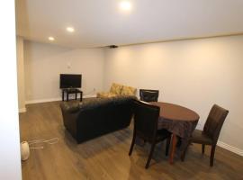 Hotel photo: 2 Bedrooms, Indpt. Basement Apartment @ Milton.