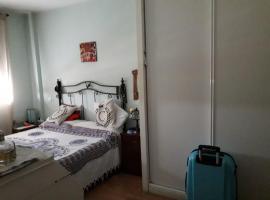 酒店照片: Habitacion doble con baño en Madrid