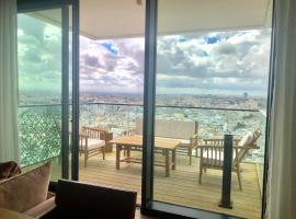 Hotel foto: Tlv 4BR 2BA Sea view top luxury penthouse