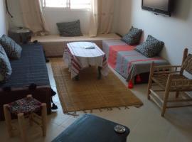 รูปภาพของโรงแรม: Immeuble I2 Abwab gueliz Marrakech Appartement