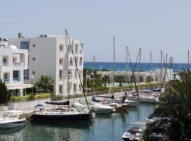 Hotel photo: appartement a hammamet sud marina