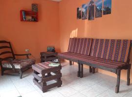 Hotel foto: Cómoda habitación antigua guatemala