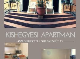 Хотел снимка: Kishegyesi Apartman